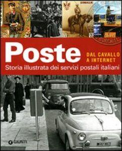 Foto Cover di Poste. Una storia italiana, Libro di  edito da Giunti Editore
