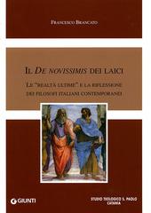 Il De novissimis dei laici. Le «realtà ultime» e la riflessione dei filosofi italiani contemporanei