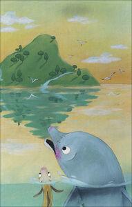 Libro Il delfino e l'anguillina Nello Anselmi 1