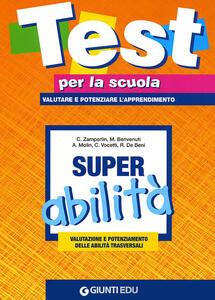 Super abilità: valutazione e potenziamento delle abilità trasversali. Vol. 3 - copertina