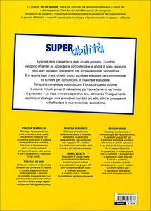 Super abilità: valutazione e potenziamento delle abilità trasversali. Vol. 3 - 4