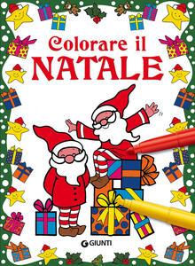 Colorare il Natale. Ediz. illustrata - Fiorella Pezzati - copertina