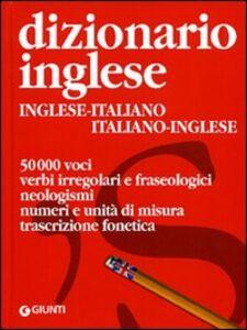 Libro Dizionario inglese. Inglese-italiano, italiano-inglese