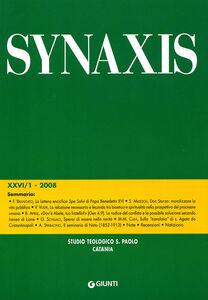 Foto Cover di Quaderni di Synaxis. Vol. 26\1, Libro di  edito da Giunti Editore