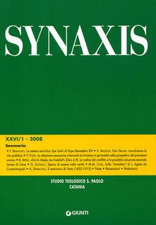 Librisulladiversita.it Quaderni di Synaxis. Vol. 26\1 Image
