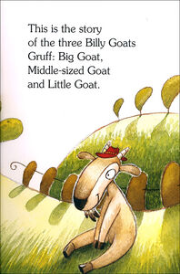 Libro The three billy goats gruff-I tre capretti furbetti. Con CD Audio  1