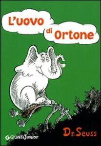 Libro L' uovo di Ortone Dr. Seuss 0