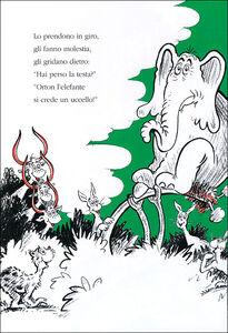 Libro L' uovo di Ortone Dr. Seuss 1