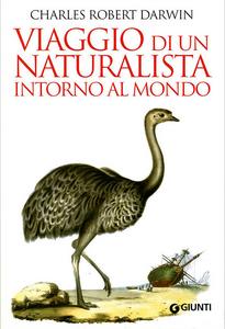 Libro Viaggio di un naturalista intorno al mondo Charles Darwin