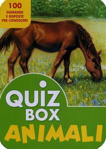 Animali. 100 domande e risposte per conoscere - copertina