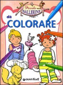 Libro Piccole ballerine da colorare
