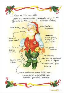 Foto Cover di La vera storia di Babbo Natale, Libro di Anastasia Zanoncelli,Leonardo Forcellini, edito da Giunti Kids 1