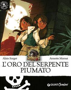 Libro L' oro del serpente piumato Alain Surget 0