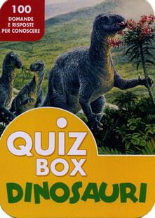 Radiospeed.it Dinosauri. 100 domande e risposte per conoscere Image