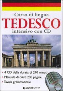 Foto Cover di Corso di lingua. Tedesco intensivo. Con 4 CD Audio, Libro di  edito da Giunti Demetra