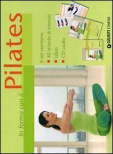 Foto Cover di Pilates. Con CD Audio, Libro di  edito da Giunti Demetra 0
