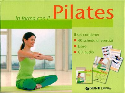 Foto Cover di Pilates. Con CD Audio, Libro di  edito da Giunti Demetra 1