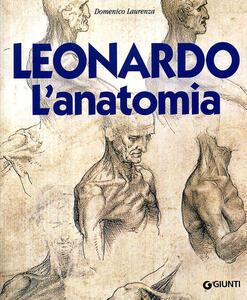 Leonardo. L'anatomia - Domenico Laurenza - copertina
