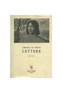 Foto Cover di Lettere. Vol. 1, Libro di Lorenzo de' Medici, edito da Giunti Editore