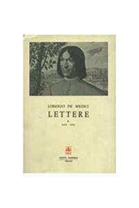 Lettere. Vol. 2 - Lorenzo de' Medici - copertina