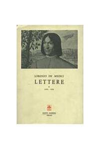 Libro Lettere. Vol. 2 Lorenzo de' Medici