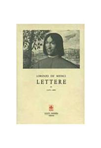 Libro Lettere. Vol. 4 Lorenzo de' Medici