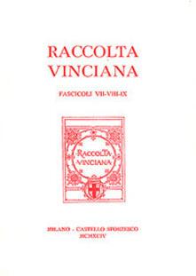 Writersfactory.it Raccolta Vinciana voll. 7-8-9 Image