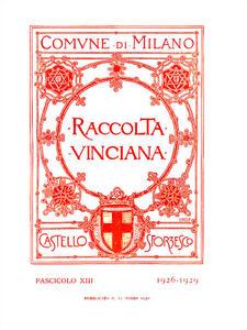 Raccolta Vinciana (1926-1929). Vol. 13 - copertina