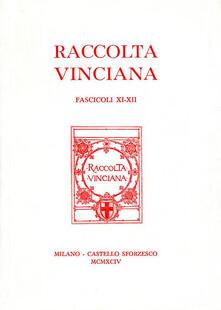 Voluntariadobaleares2014.es Raccolta Vinciana (1994) voll. 11-12 Image