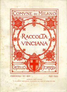 Voluntariadobaleares2014.es Raccolta Vinciana (1935-1939) voll. 15-16 Image