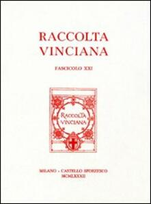 Winniearcher.com Raccolta Vinciana (1982). Vol. 21 Image