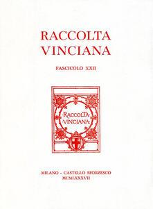 Listadelpopolo.it Raccolta Vinciana (1987). Vol. 22 Image