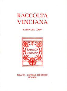 Voluntariadobaleares2014.es Raccolta Vinciana (1960). Vol. 24 Image