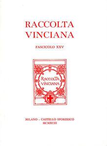 Raccolta Vinciana (1993). Vol. 25