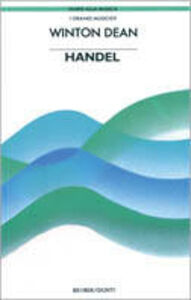 Foto Cover di Händel, Libro di Winton Dean, edito da Giunti Editore