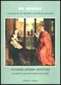 Foto Cover di Netherlandish painting. Fifteenth and sixteenth centuries, Libro di Nikolai N. Nikulin, edito da Giunti Editore