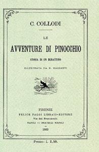 Libro Le avventure di Pinocchio. Storia di un burattino (rist. anast. 1883) Carlo Collodi 0