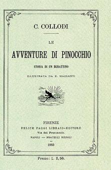 Le avventure di Pinocchio. Storia di un burattino (rist. anast. 1883).pdf