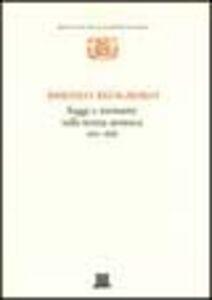 Libro Saggi e memorie sulla teoria atomica (1811-1838) Amedeo Avogadro