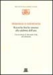 Libro Ricerche fisiche intorno alla salubrità dell'aria Marsilio Landriani