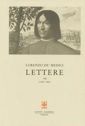 Lettere. Vol. 7: 1483-1484.