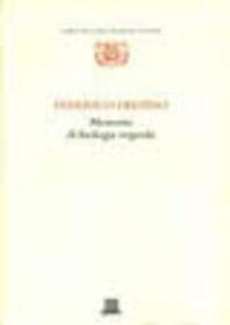 Libro Memorie di biologia vegetale Federico Delpino