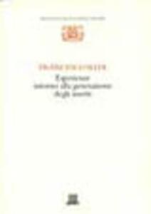 Esperienze intorno alla generazione degli insetti - Francesco Redi - copertina