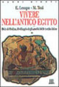 Libro Vivere nell'antico Egitto. Deir El-Medina, il villaggio degli artefici delle tombe dei re Enrica Leospo , Mario Tosi