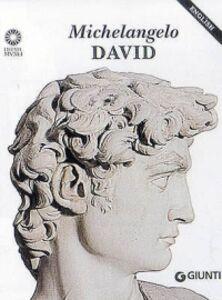 Libro Michelangelo. David. Ediz. inglese Laura Ciuccetti 0