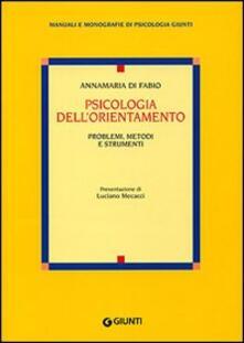 Lpgcsostenible.es Psicologia dell'orientamento. Problemi, metodi e strumenti Image