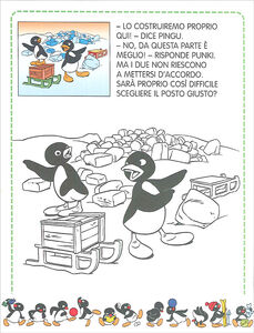 Libro Pingu costruisce un igloo Sybille von Flüe 1