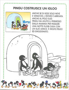 Libro Pingu costruisce un igloo Sybille von Flüe 2