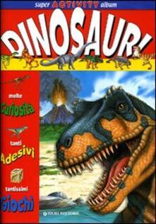 Amatigota.it Dinosauri. Super activity album Image