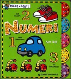 Libro Numeri Matt Wolf
